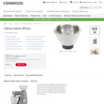 Kenwood Citrus Juicer AT312 Attachment $20.99 (65% off) + $9.99 Shipping @ Kenwood