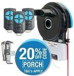 Garage Roller Door Opener & 3 Remotes - $239.20 Delivered @ National Garage eBay