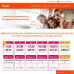 Yomojo - 50% off All Mobile/Mobile Broadband Plans for 3 Months