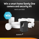Win a Somfy One Smart Home Camera & Security Kit Worth Over $930 from Scan