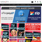 Selected 4K Titles - Dunkrik, Inception, Intersellar & More $14.99 Each @ Sanity (in-Store Only)