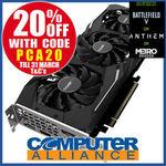 GIGABYTE GeForce RTX 2070 8GB WINDFORCE $655.2 + $15 Delivery (Free with eBay Plus) @ Computer Alliance eBay