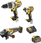 Dewalt DCK341T1-XE 18V Brushless 3 Piece Combo Kit $499 @ Bunnings