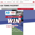 Win a Trip to New York for 2 Worth $11,650 from Kia