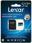 [eBay Plus] Lexar High Performance 633x microSDXC - 512GB $106.25 Delivered @ Ninja.buy eBay