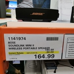 [VIC] Bose Soundlink Mini II $164.99 @ Costco Docklands (Membership Required)