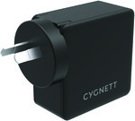 Cygnett 57W PD USB-C + USB-A Wall Charger & AU, EU, UK Travel Adapters $29.75 + 2000 QFF Points @ Qantas Store