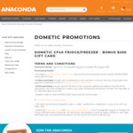 Dometic Waeco CF40 Pack Including Cover $599 + $200 Anaconda GC @ Anaconda (Free Adventure Club M'ship Reqd)