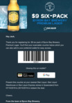 [QLD] $9 Six-Pack of Byron Bay Brewery Premium Lager @ Star Liquor