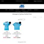 Sydney FC Mens & Kids Jerseys - $9.95 (+ $15 Shipping or Free C&C Perth) @ Jim Kidd Sports