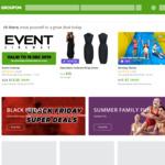 Groupon 20% off Goods in App (10% Website)