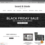15% off Sitewide + Stackable with Selected 15% off Second Item (Free Shipping with $20) @ Beard and Blade