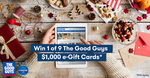 Win 1 of 9 $1,000 The Good Guys eGift Cards from Canstar Blue