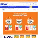 1000 WW Rewards Point (Worth $5) with $50 Gift Cards - Google Play, Netflix | 10% off Nintendo eShop Gift Cards @ Big W