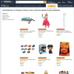 Disney Costumes from $3.59 + Delivery ($0 with Prime) from Amazon AU