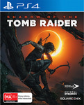 [PS4, XB1] Shadow of The Tomb Raider $9 + Delivery (Free C&C) @ EB Games