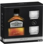 Jack Daniels Gentleman Jack Glass Pack 700ml $52 + 2000 Flybuys Points with Click & Collect @ First Choice Liquor