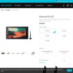 Huion Kamvas Pro 20 USD $411.75/AUD $588.48, Huion GT-156HD V2 USD $314.30/AUD $449.20 Delivered @ Huion Official Store