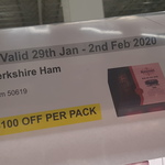 [VIC] Berkshire Ham on The Bone - $100 off Per Pack (Use by 8/02/20) @ Costco Epping (Membership Required)