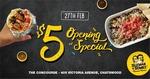 [NSW] $5 Burritos and Bowls: 12pm-7pm Thursday 27 February @ Guzman Y Gomez, Chatswood