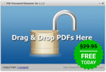 Free: PDF Password Remover 7.5.0 @ Giveaway of The Day (Normally $29.99)