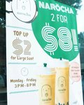 [VIC] 2 for $8 Bubble Tea from 3PM - 8PM, Mon to Fridays @ Narocha