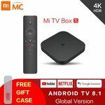 Xiaomi Mi Box S Android 4K TV Box - Black (Global Version) + Free Gift Case AU $91.99 Delivered @ Xiaomi MC Store via AliExpress