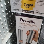 [NSW] Breville LSP200BSS The Salt and Pepper Mills - Clearance $25 @ The Good Guys Auburn