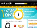 SENNHEISER HD65TV Headphones $59.97 (1/2 Price) at DSE (Online Only Today 7-8 Pm AEDT)