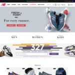$100 off a $300 Spend on Full Priced Items at New Balance