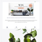 Win a Living Room Makeover Worth $1,500 from Bandhini Design