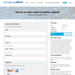 NewsgroupDirect Terabyte Tuesday 1TB Usenet Block Account for US$7 (~A$9.75) -and- Price Matched Unlimited Deals
