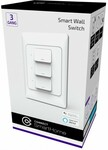 BOGOF Smart Wall Switches (eg 2x Connect 3 Gang Switch $59 C&C / + Delivery) @ Harvey Norman / Joyce Mayne
