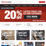 20% off  Gearwrench & SP Tools Products @ Norva Tools