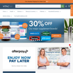 Extra 15% off Sitewide Online Pharmacy (Free Standard Shipping Australia Wide over $50) @ Vital Pharmacy Supplies