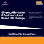 NextCloudily - Nextcloud 5GB Free Cloud File Storage with End-to-End Encryption @ VPNILY
