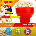 [eBay Plus] Popcorn Popper Maker (Silicone Microwaveable) $19.96 Free Shipping @ for_home_australia via eBay