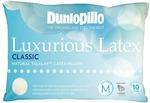 Dunlopillo Luxurious Latex Medium Profile Pillow (Classic, Medium Feel) $69 Delivered @ Kogan