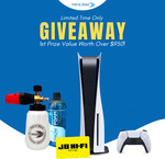Win a PlayStation 5, $100 JB Hi-Fi Voucher & Snow Blaster Bundle Worth Over $950 from Wat-er Blast