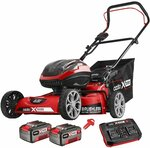 Ozito PXC 2 x 18V Brushless Steel Deck Lawn Mower Kit $399 (Was $449) @ Bunnings