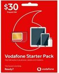 $30 Vodafone Pre-Paid SIM Starter with 40GB $8 (save $22) @ Officeworks