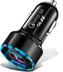 OLAF 30W 3A Metal Dual USB Super Fast Charging Car Charger A$3.44/ US$2.59 + More Delivered @ GearBest
