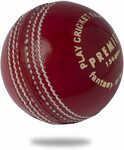 Cricnix Premier Leather Cricket Ball (Red) $19.99 (Was $24.99) + Delivery ($0 with Prime/ $39 Spend) @ Cricnix Amazon AU