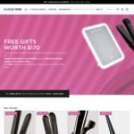 Free Gifts (Worth $170) with Cloud Nine Styling Tools + $20 off with First Order (Free Shipping over $100) @ Cloud Nine Hair