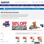 50% off Hill's Science Diet Dry Puppy & Kitten Food @ Best Friends Pet