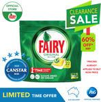 Fairy Dishwasher Tablets - Original Lemon (22pk) or Platinum Lemon (18pk) $5.60 Delivered @ Procter and Gamble eBay