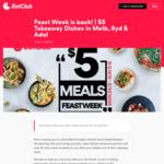 [NSW, VIC, SA] $5 Takeaway Meals @ Eatclub