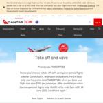 $150 off Return Flights to Christchurch, Wellington or Auckland @ Qantas