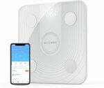 BlitzWolf BW-SC1 WiFi Smart Body Fat Scale APP Control BMI Data Analysis Digital Weight Scale US$27.99 (A$37.53) @ Banggood