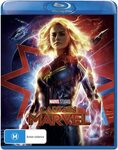Captain Marvel Blu-Ray $6 & Other Titles + Delivery ($0 with Prime/ $39 Spend) @ Amazon AU